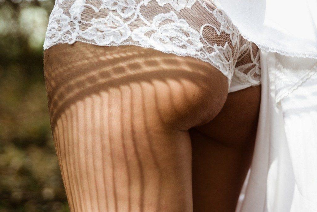 La lingerie en dentelle