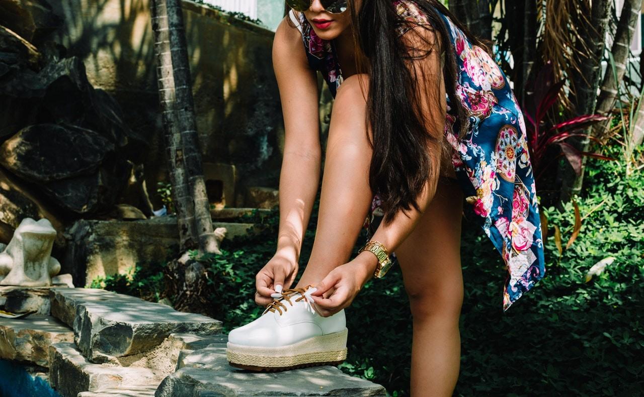 Chaussures elegantes confortables et adaptées