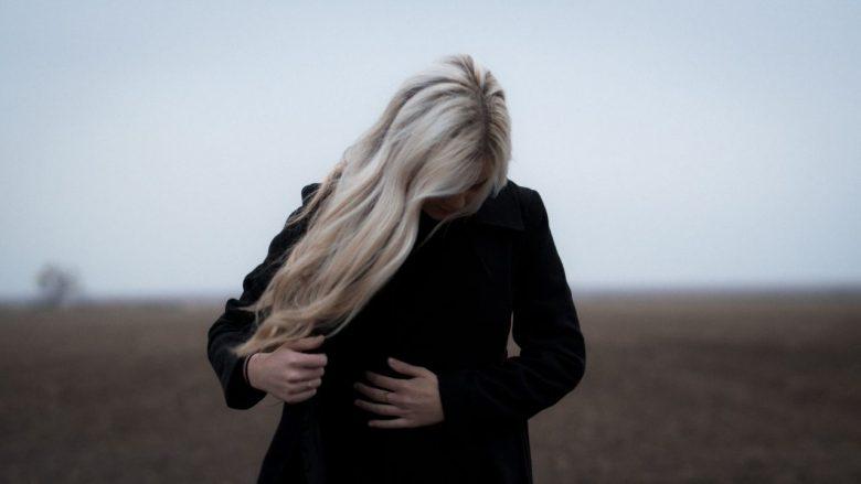 Manteau noir en laine